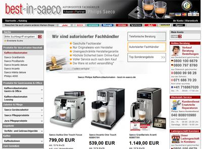 best-in-saeco.de